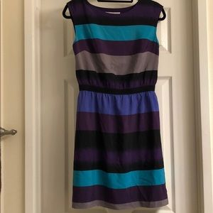 Loft size small striped dress
